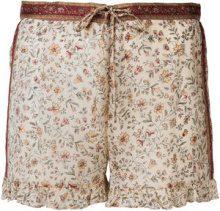 Mes Demoiselles - Shorts a fiori - women - Silk - 40 - NUDE & NEUTRALS