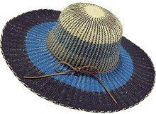 Barts Mexa Hat, Cappello alla Pescatora Donna, Multicolore, Blu