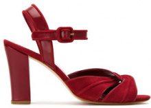 Sarah Chofakian - suede sandals - women - Goat Suede - 34, 35, 36, 37, 38 - Rosso
