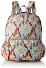 Oilily Enjoy Ornament Backpack Lvz - Borse a zainetto Donna, Turchese (Light Turquoise), 13x40x30 cm (B x H T)