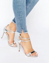 Call It Spring - Staval - Sandali con tacco, listini e cinturini avvolgenti alla caviglia