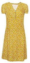 ESPRIT 078ee1e006, Vestito Donna, Multicolore (Honey Yellow 710), 40 (Taglia Produttore: 34)