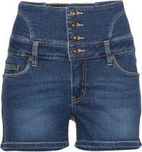 Shorts di jeans a vita alta