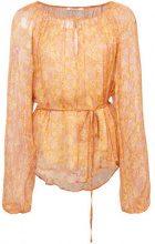 Mes Demoiselles - Andreas blouse - women - Viscose - 38, 36 - BROWN