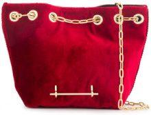 M2malletier - Borsa a secchiello - women - Polyester/Calf Leather - OS - Rosso