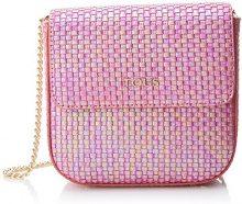 Tous Rita Iris Re Pequeña - Borse Messenger Donna, Rosa (Pink), 7.5x17x23 cm (W x H L)