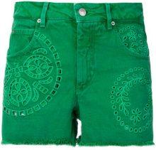 Isabel Marant - Shorts 'Reverson' - women - Cotone - 40 - Verde