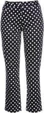 Pantalone elasticizzato 7/8 (Nero) - bpc selection