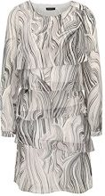 APART Fashion 31782, Vestito Donna, Multicolore (Taupe-Multicolor Taupe-Multicolor), 42