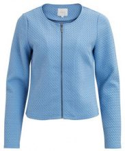 VILA Simple Cardigan Women Blue