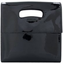 Helmut Lang - Clutch - women - Patent Leather - OS - Nero
