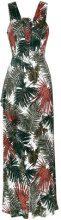 Tufi Duek - foliage print long dress - women - Polyester/Viscose - 42 - unavailable