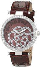 Cacharel CLD 001S-UU - Orologio da polso Donna, Pelle, colore: Marrone