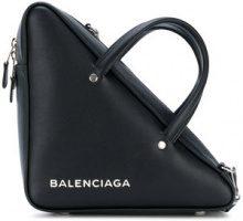 Balenciaga - Borsa 'Triangle' - women - Leather - OS - Nero