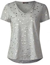 Street One 311910, T-Shirt Donna, (Cameo Pink 21337), 46