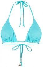 Fisico - Top bikini a triangolo - women - Polyamide/Spandex/Elastane - XS, M - BLUE