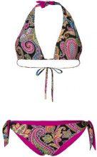 Etro - Bikini con stampa paisley - women - Polyamide/Spandex/Elastane - 44 - MULTICOLOUR