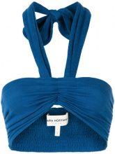 - Mara Hoffman - Top bikini - women - Organic Cotton - S, L - Blu