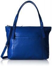 Liebeskind Berlin Newark Heasti - Borse a spalla Donna, Blau (Electric Blue), 13x32x37 cm (L x H D)