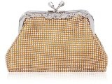 Exquisit Damara donna in strass piccola borsa a tracolla