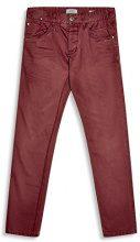 edc by Esprit 077cc2b005, Pantaloni Uomo, Rosso (Bordeaux Red 600), W33/L32