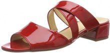 Gabor Shoes Fashion, Ciabatte Donna, Rosso (Red), 35 EU