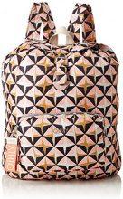 Oilily Enjoy Geometrical Backpack Lvz - Borse a zainetto Donna, Rosa (Rose), 13x40x30 cm (B x H T)