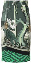 Versace Collection - multi-pattern skirt - women - Polyester/Spandex/Elastane/Viscose - 38, 40, 42, 44, 46 - Verde