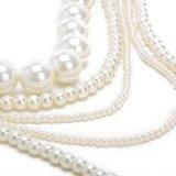 moda collana da donna pendente lunga matrimonio perle luminoso festa regalo