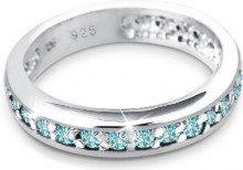 Elli 6400475 - Anello in argento 925, Argento, 14,5, colore: blu, cod. 06400475_54