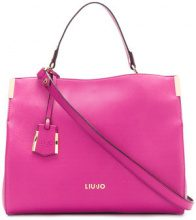 Liu Jo - Isola tote bag - women - PVC/Polyester - OS - PINK & PURPLE