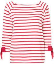 Tu Es Mon Trésor - T-shirt a righe - women - Cotton - 40 - RED