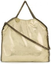 Stella McCartney - Borsa Tote 'Falabella' con battente - women - Polyester/Polyurethane - One Size - YELLOW & ORANGE
