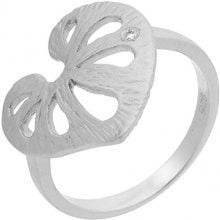 Orphelia dreambase-anello in argento 925 rodiato con zirconi bianchi taglio a brillante (17,8) - taglia 56 ZR-3932/56