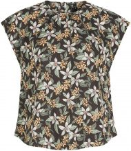 Y.A.S Floral Blouse Women Black