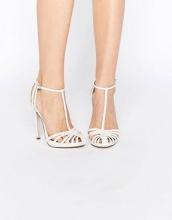 ASOS - PEACE - Scarpe con tacco alto a gabbia da sposa