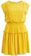 VILA Short Sleeved Dress Women Orange