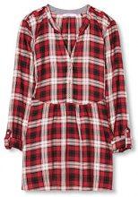 edc by Esprit 116cc1f015, Camicia Donna, Rosso (Dark Red), 36 (Taglia Produttore: Small)
