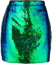 Amen - Minigonna con paillettes - women - Polyamide/Polyester/Spandex/Elastane/Viscose - 40, 42, 38, 44 - Verde