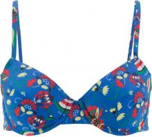 Reggiseno con ferretto per bikini (Blu) - bpc bonprix collection