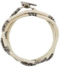 M. Cohen - Braccialetto con fili di perline - women - Silver - OS - NUDE & NEUTRALS