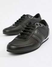 BOSS - Sneakers riflettenti in nylon nere - Nero