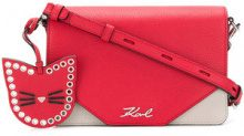 Karl Lagerfeld - Karry All shoulder bag - women - Leather - One Size - RED