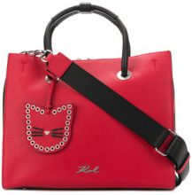 Karl Lagerfeld - Karry All Shopper tote bag - women - Leather - One Size - RED