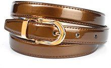 Anthoni Crown A4303L, Cintura Donna, Marrone (Kupfer 030), 80 cm