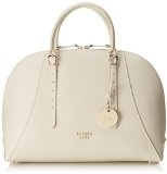 Guess Lady Luxe Dome Satchel Borse a Tracolla, BEI