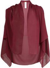Liu Jo - shawl-style scarf - women - Polyester - OS - Rosso