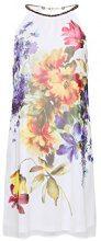 ESPRIT Collection 078eo1e009, Vestito Donna, Bianco (Off White 110), 40 (Taglia Produttore: 34)