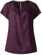 Street One 341037 Felia, Blusa Donna, Violett (Mystique Berry 11422), 50
