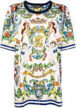 Dolce & Gabbana - Sicilia print T-shirt - women - Cotton - 42 - WHITE